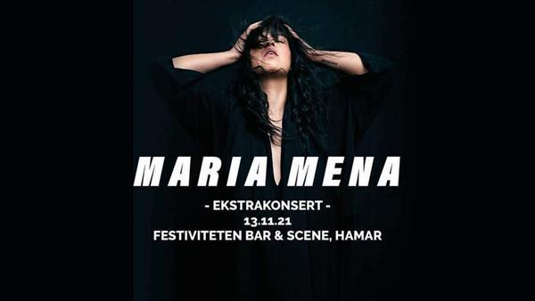 Maria Mena (ekstra konsert)